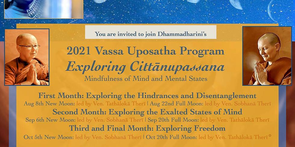 Vassa Uposatha Program