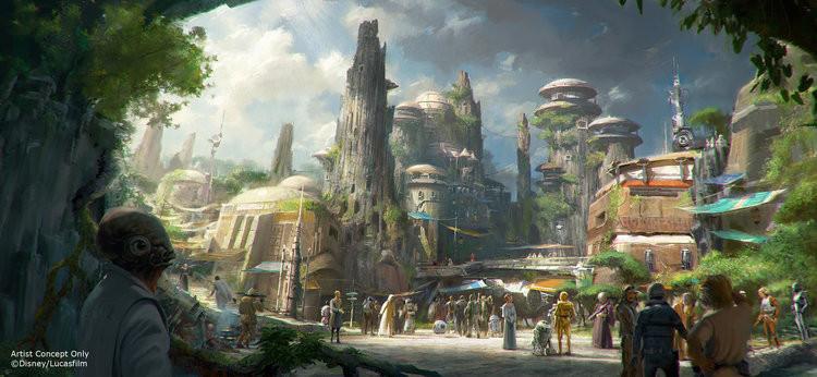 Galaxy's Edge - Disney/Lucas Films