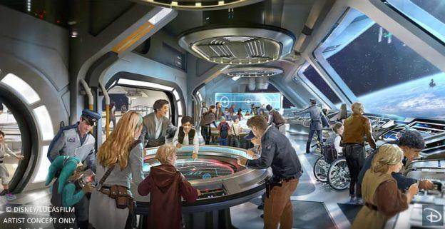 Star Wars Activity Room - Disney/Lucas Films