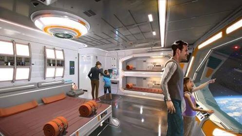 Star Wars Cabins - Disney/Lucas Films