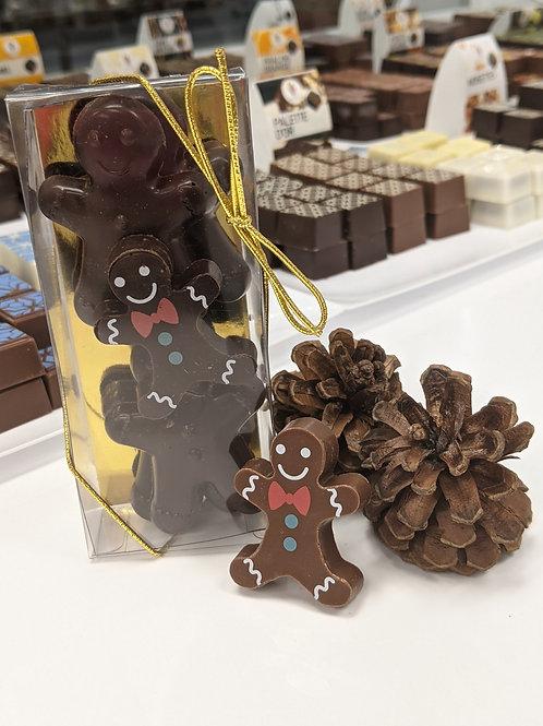 Bonhommes en chocolat