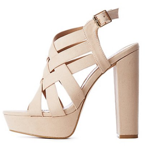 Criss Cross Summer Heel- Chelby