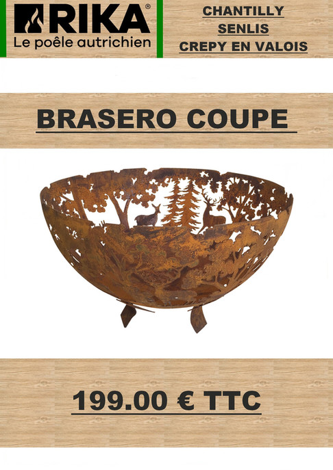 Braséro coupe