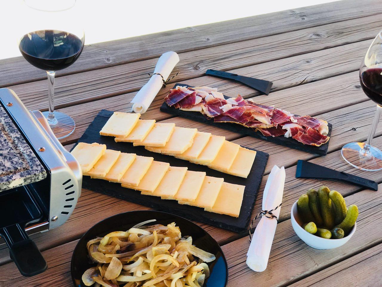 Raclette de Ibérico