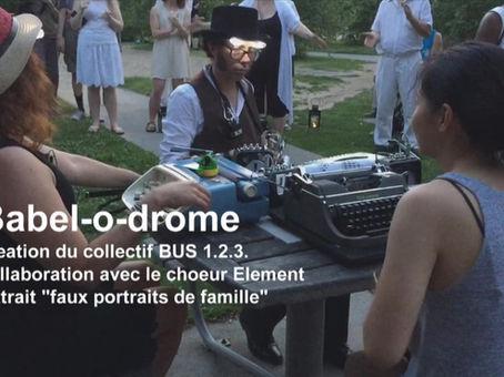 Vidéo, Babel-o-drome, Portrait