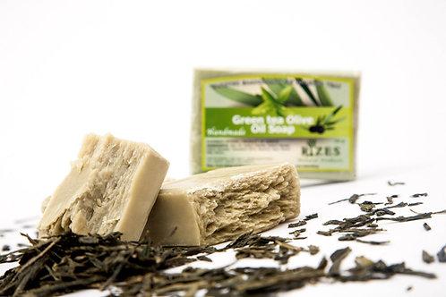 Green Tea Olive Oil Soap / 100 gr