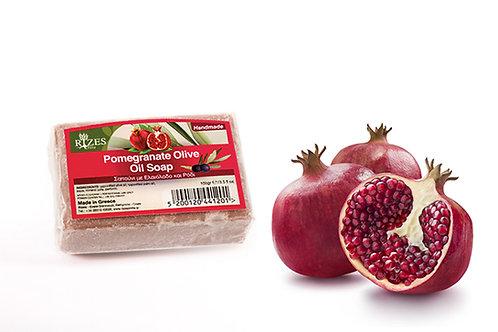 Pomegranate Olive Oil Soap / 100 gr