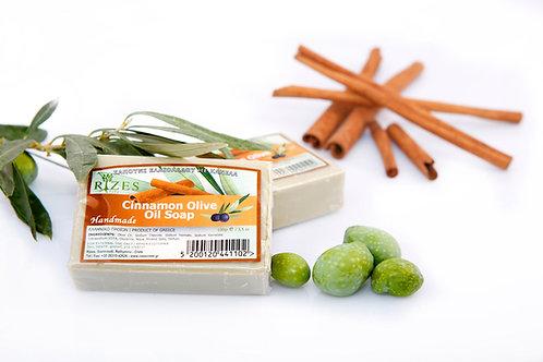 Cinnamon Olive Oil Soap / 100 gr