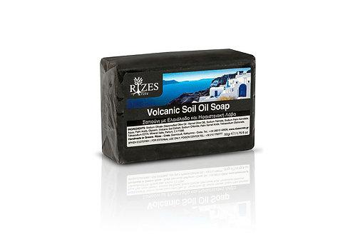 Ηφαιστειακό σαπούνι ελαιολάδου / 100 γρ