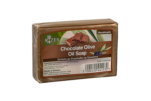 Chocolate Olive Oil Soap / 100 gr