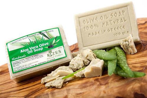 Aloe Vera Olive Oil Soap / 100 gr