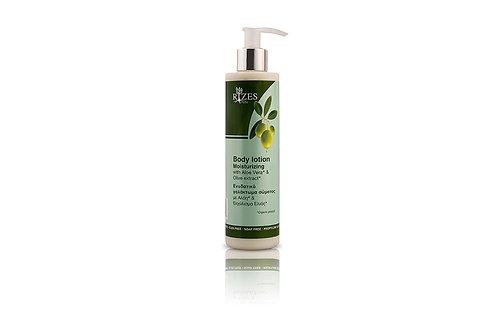 Moisturizing body lotion with aloe / 250 ml