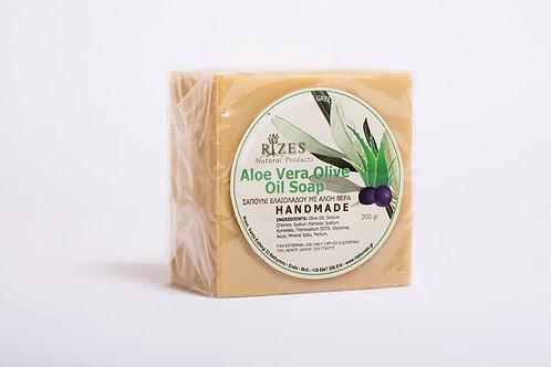 Aloe Vera Olive Oil Soap / 200 gr