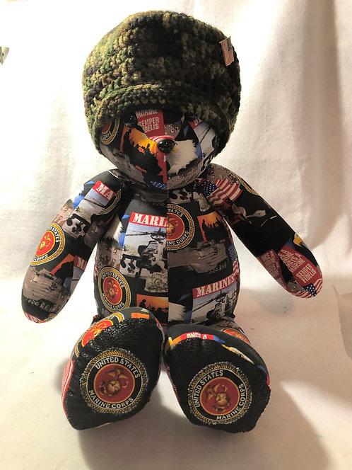 US Marines Bear