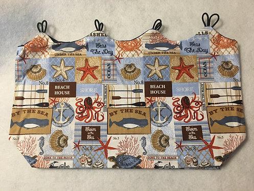 Button Bag Covers - Beach