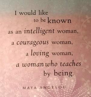 Be inspirational...