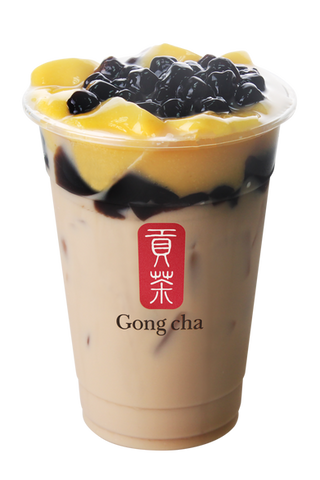 Earl Grey Milk Tea with 3J
