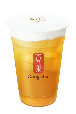 Milk Foam Green Tea