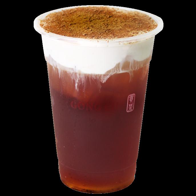 Milk Foam Brown Sugar Oolong Tea