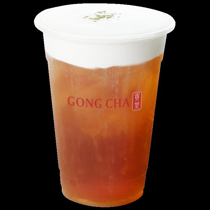 Milk Foam Oolong Tea