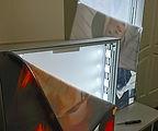 Tekstilinių šviesdėžių profilių pavyzdys