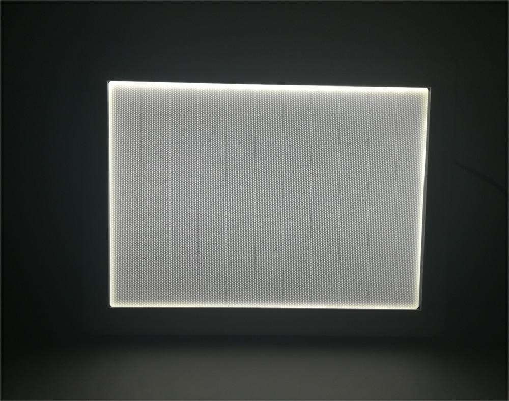 Šviečiantis rėmelis - LED Thinlite, įjungtas, rodomas produkto priekis