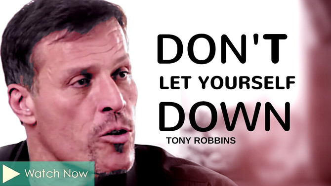 Don't Let Yourself Down...