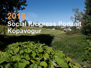 Social Progress Portrait fyrir Kópavog