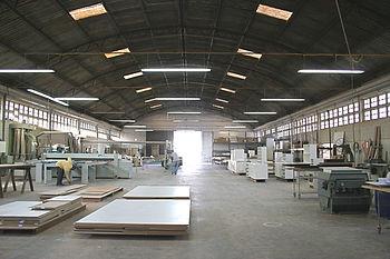 Nossa fabrica começando o dia