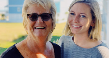Giving from Afar: Members Debbie and Madison Reinhart