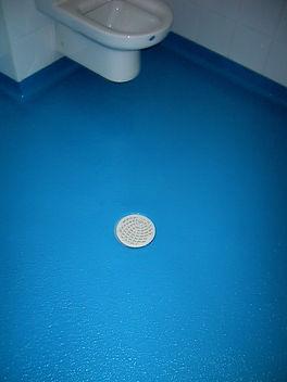 pavimento limpio sala blanca baño poliurea