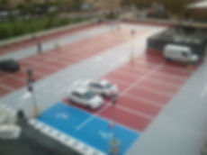 pavimento estacionamiento poliurea