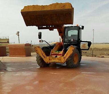 Pavimento industrial poliurea