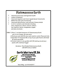 Diatomaceous Earth    350g