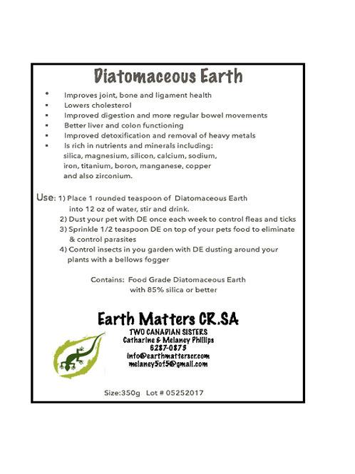 Diatomaceous Earth    350g