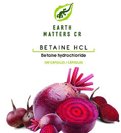 Betaine HCL  100- 500mg / Gelatin Capsule