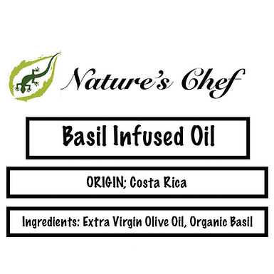 Basil Infused Olive Oil    8oz