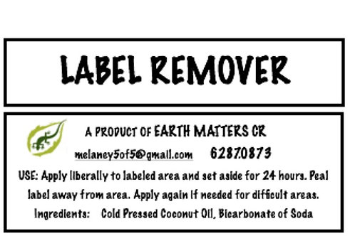 Label Remover    60ml