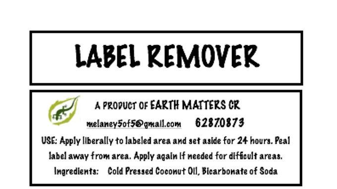 Label Remover    60ml