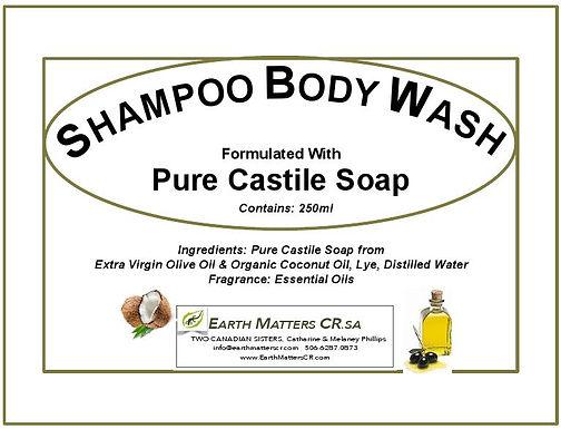 Shampoo BodyWash 250ml