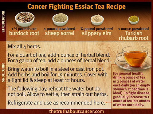 Essiac Tea Herbs  2oz