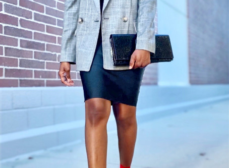 Stylish Plaid Outfits To Wear To The Office This Fall