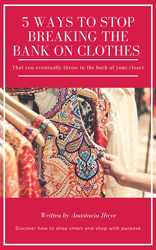 5 Ways To Stop Breaking The Bank On Clothes
