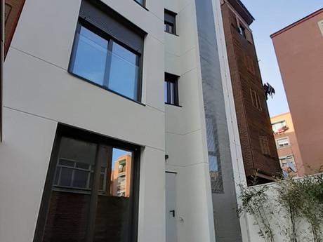 Nueva construcción de 12 viviendas en Madrid