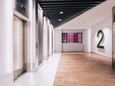 Acondicionamiento de un edificio de oficinas en Madrid