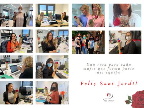 ¡Feliç Sant Jordi desde ABL Group!
