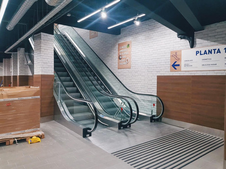 Rehabilitación de edificio para un nuevo supermercado