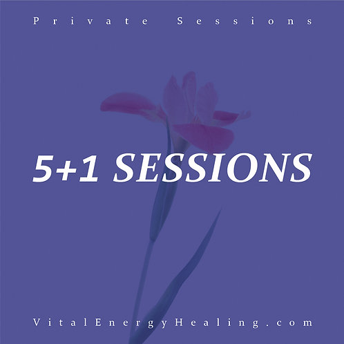 Business Healing 5+1 Sessions