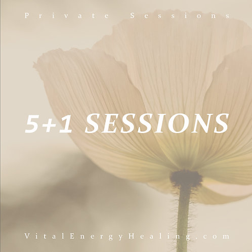 Guided Meditation 5+1 Sessions
