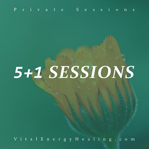 Emotional Healing 5+1 Sessions